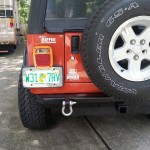 Image of Jack's Father's 2006 Jeep Wrangler Sport at Jeep Rehab having modifications installed